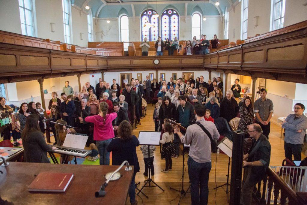 Gathering with Caersalem Church, Caernarfon